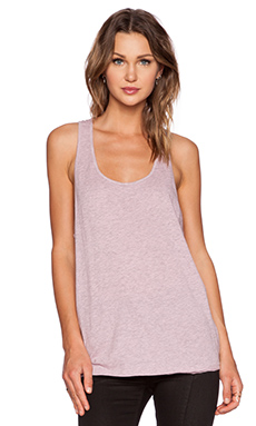 Cheap Monday Fave Solid Tank in Ice Cream Pink Melange