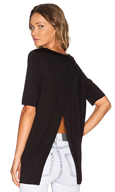 Cheap Monday Enfold Top in Black