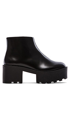 Cheap Monday Tractor High Bootie in Black
