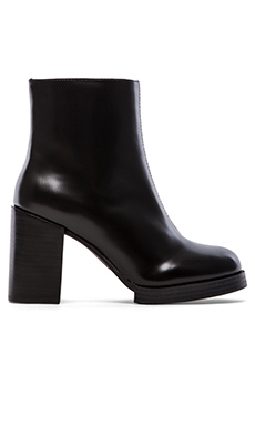 Cheap Monday Layer Ankle Boot in Black