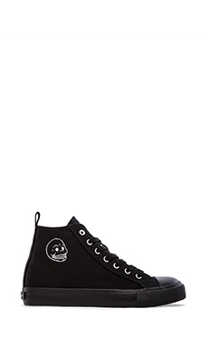 Cheap Monday Base High Top Sneaker in Black