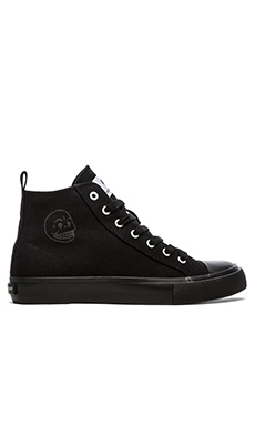 Cheap Monday Base High Top Sneaker in Black