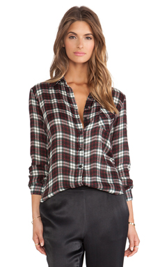 Charles Henry Long Sleeve Workshirt in Red Plaid