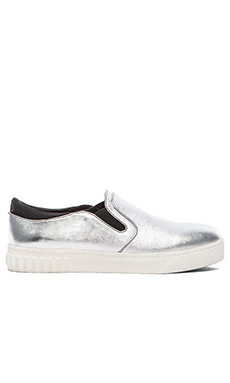 Circus by Sam Edelman Cruz Slip-On in Silver Grey & Black