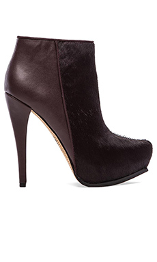 Circus by Sam Edelman Jacey Calf Hair Boot in Oxblood