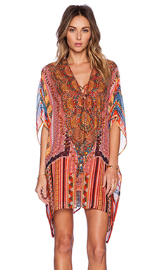 Camilla Lace Up Kaftan in Child Of The Tribe