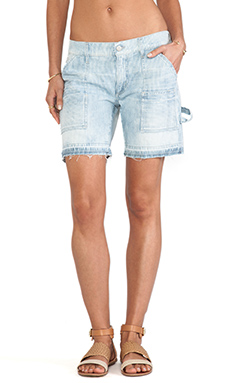 Citizens of Humanity Leah Short in Sunfade Stripe
