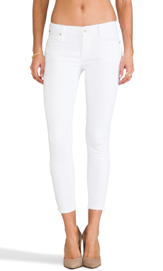 Citizens Of Humanity Avedon Skinny in Optic White