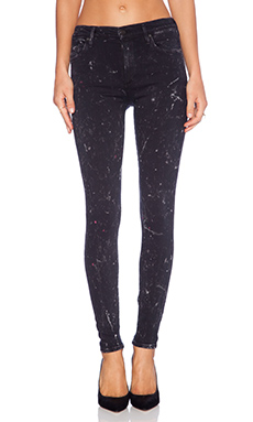 Citizens of Humanity Rocket Skinny in Starry Black