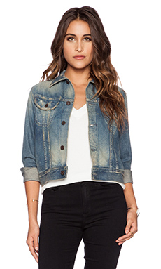 Citizens of Humanity Premium Vintage Dakota Jean Jacket in El Camino