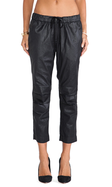 Citizens of Humanity Kai Pant in Black Leatherette