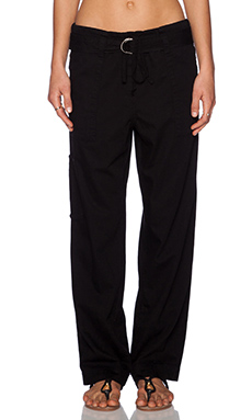 Citizens of Humanity Kiley Drawstring Pant in Ebony