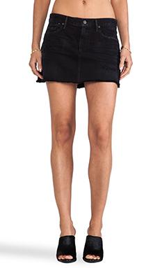 Citizens of Humanity Premium Vintage Daria Mini Skirt in Drifter