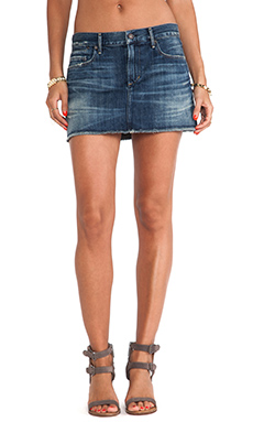 Citizens of Humanity Premium Vintage Daria Mini Skirt in Legacy