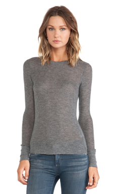 Citizens of Humanity Cashmere Thermal in Heather Grey