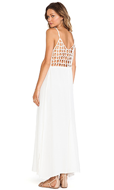 Cleobella Fiona Maxi Dress in Ivory