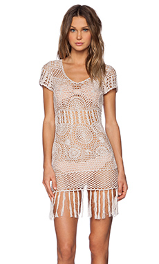 Cleobella Daisy Dress in Champagne