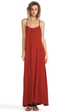 Cleobella Valor Dress in Tangerine