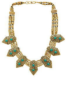 Cleobella Serena Necklace in Brass