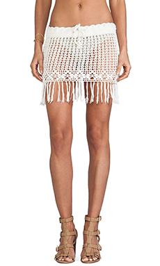 Cleobella Dahlia Skirt in Ivory