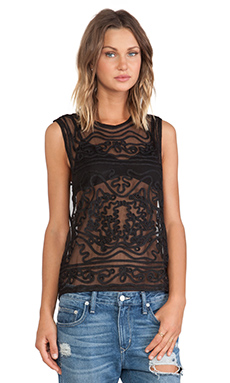 Cleobella Paloma Tank in Black