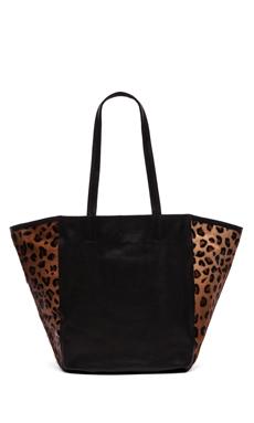 Cleobella York Tote in Leopard