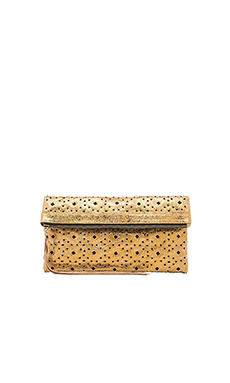 Cleobella Issa Clutch in Bronze