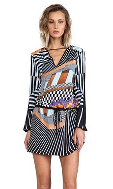 Clover Canyon Lautner Land Mini Dress in Multi