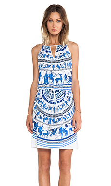 Clover Canyon Corinthian Vase Dress in Multi