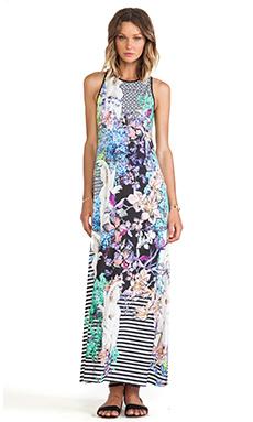 Clover Canyon Enchanted Garden Jersey Maxi Dress in Multi