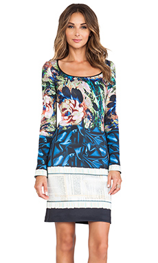 Clover Canyon James Joyce Neoprene Dress in Multi