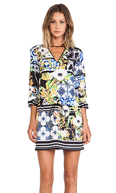 Clover Canyon Greek Tiles Dress in Multi