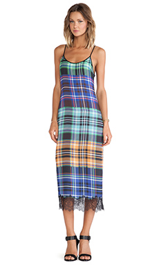 Clover Canyon Celtic Plaids Dress in Multi