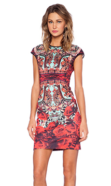 Clover Canyon Rose Matador Dress in Multi