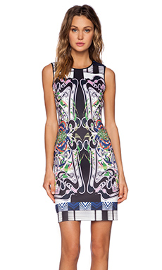 Clover Canyon Swirling Scarf Dress in Multi