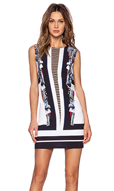 Clover Canyon Ancient Parallels Mini Dress in Multi