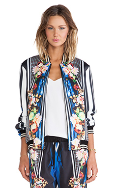 Clover Canyon Winter Solstice Neoprene Jacket in Multi