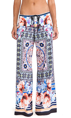 Clover Canyon Byzantine Scarf Wide Leg Pant in Multi