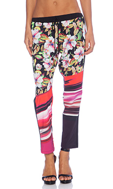 Clover Canyon Botanical Wave Drawstring Pants in Multi