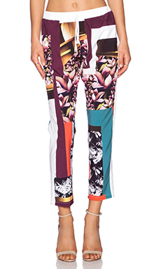 Clover Canyon Chrome Divide Pant in Multi