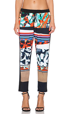 Clover Canyon Ink Strokes Pant in Multi