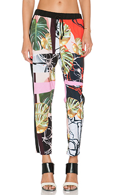 Clover Canyon Falling Leaves Pant in Multi