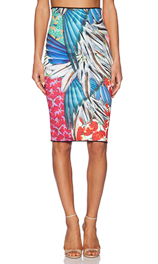 Clover Canyon Carnivale Reversible Skirt in Multi