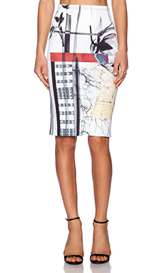 Clover Canyon X-Ray Garden Skirt in Multi