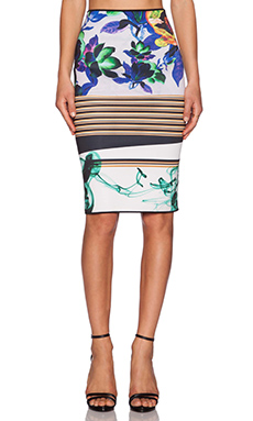 Clover Canyon Liquid Jade Skirt in Multi