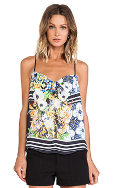 Clover Canyon Greek Tiles Top in Multi