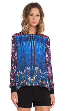 Clover Canyon Enchanted Woodlands Top in Multi