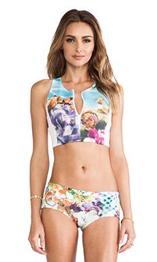 Clover Canyon Pool Flower Bikini in Multi