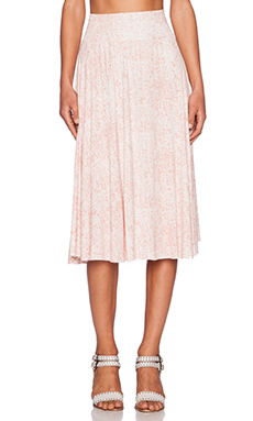 Clayton Cameron Skirt in Blush Graph