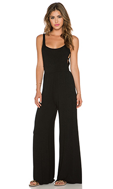 Clayton Bianca Jumpsuit in Black